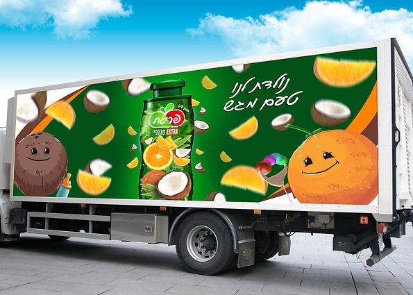 Free Heavy Duty Truck Branding Mockup PS