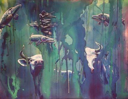 Vetehisen karjaa