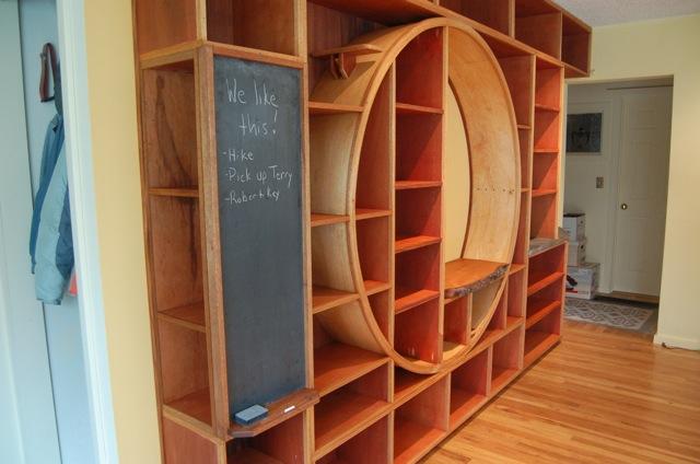 Bookcase Blackboard