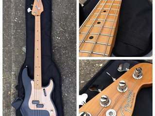 fender p bass, precision bass