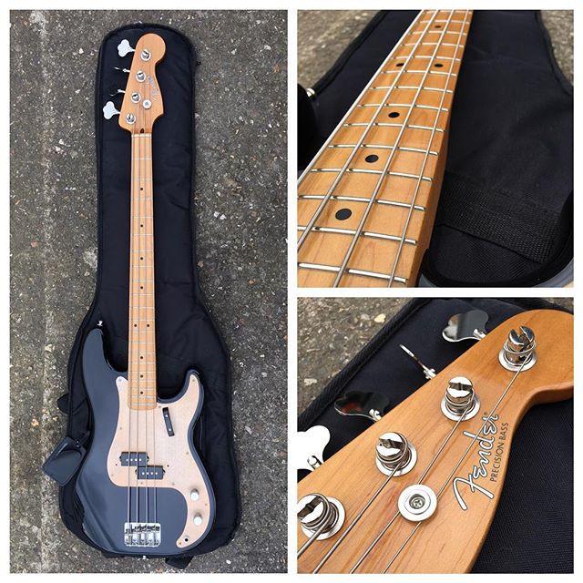 fender p bass, bass set up, fret level