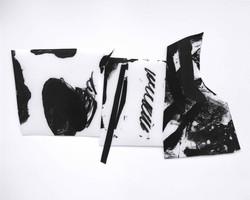 Trio 17, 폴리에스테르, 아크릴물감, 브리스톨, 40x50cm, 2017