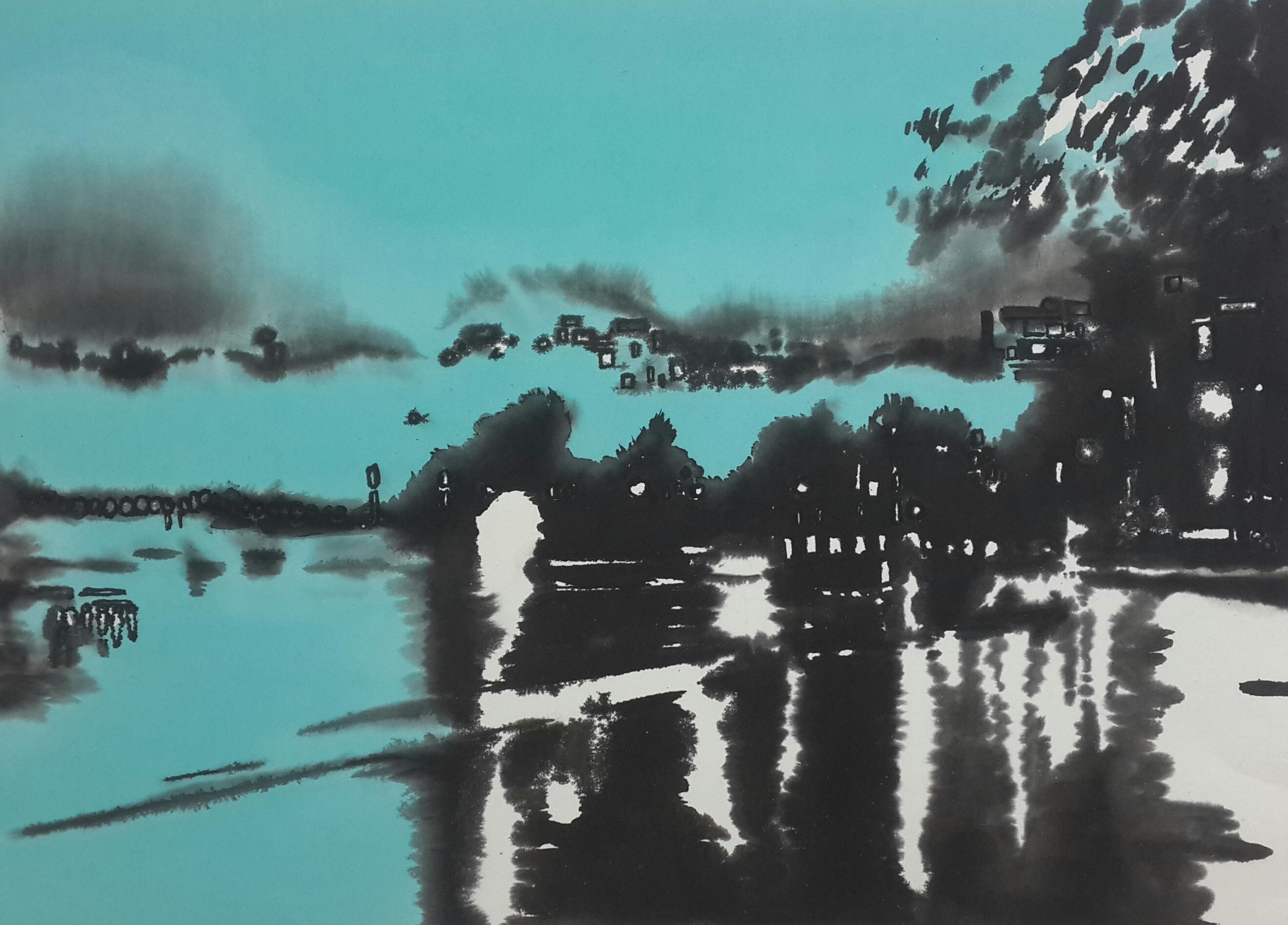 장경애|rain of blue