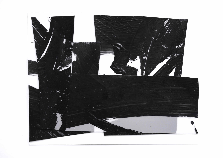 Chutes 1, 폴리에스테르, 아크릴물감, 브리스톨, 24x30cm, 2016