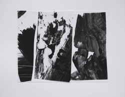Chutes 2, 폴리에스테르, 아크릴물감, 브리스톨, 24x30cm, 2016