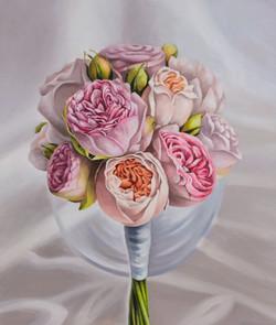 부케2, Oil on canvas, 53.0x45.5cm, 2017