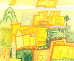 신종식|노란도시(Yellow city)