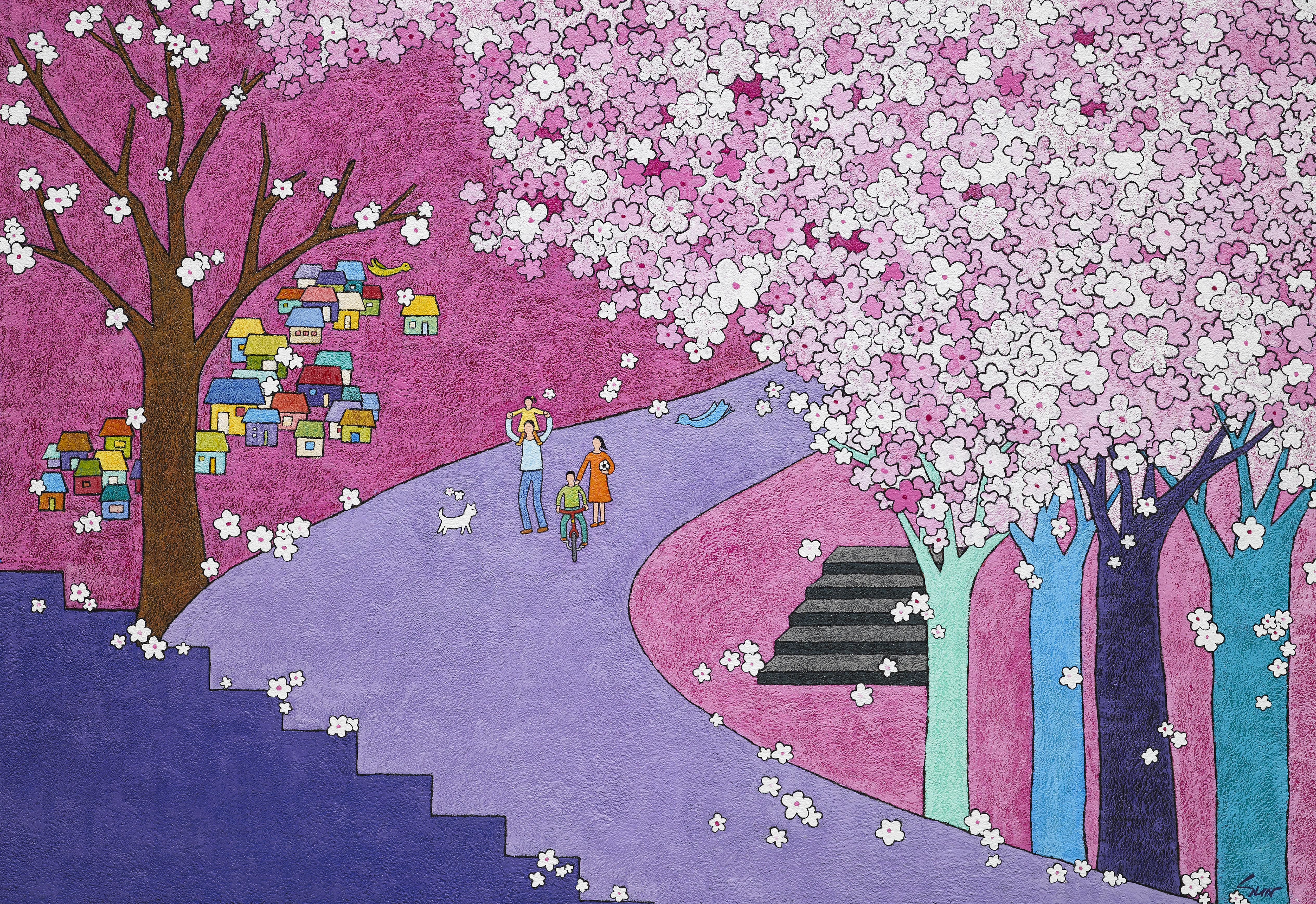 김선옥|행복한 봄날II