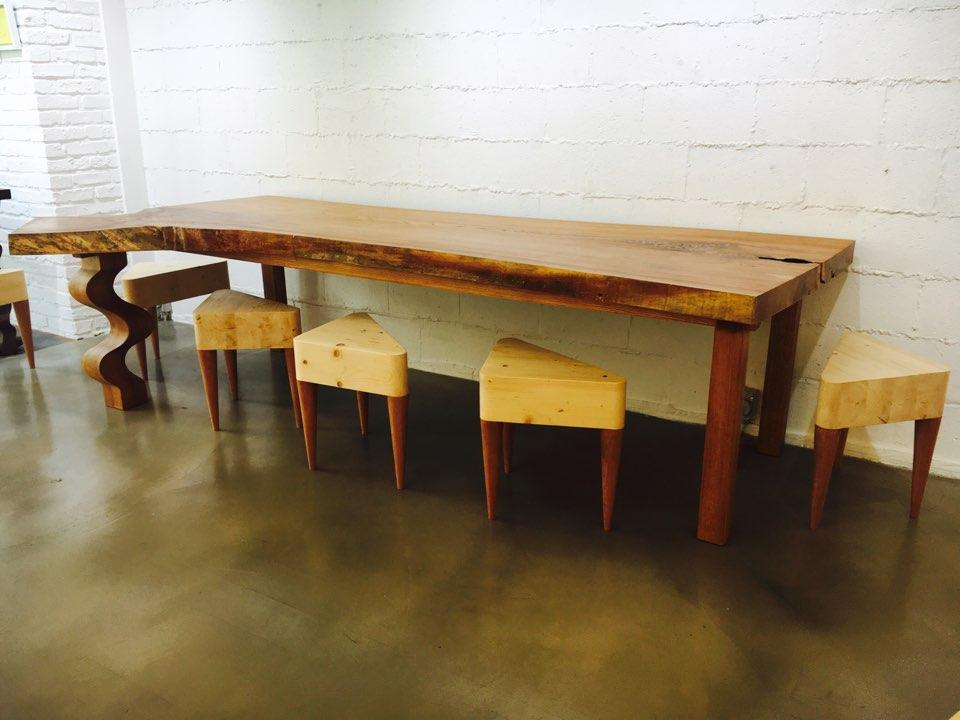 느티나무 테이블/ 의자