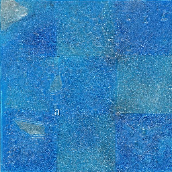 기억(섬)30x30cm paraffin on aluminum panel