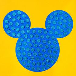 TCM20호_동심미키 Childlike Mickey C150203C, think on Canvas, 60X60cm, 2015