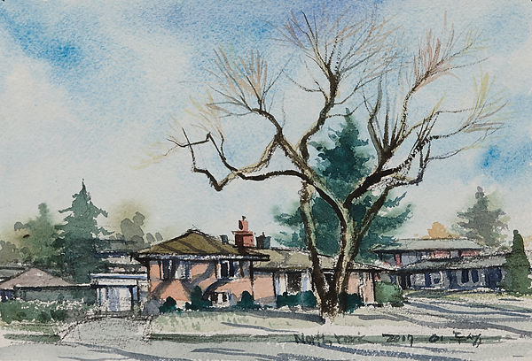 5.North york 18x26cm. water color on arc