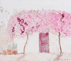 박인옥|꽃구름, 꽃잎 바람