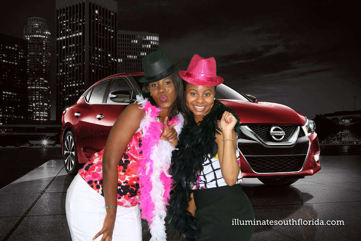 Green screen Nissan corporate event