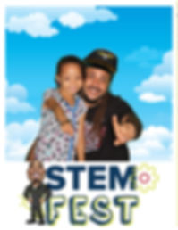 Family using green screen photo booth at festival event in Pembroke Pines, Broward County, South Florida