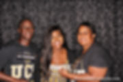 Family celebrates with fun photo booth at graduation party in Broward County, South Florida