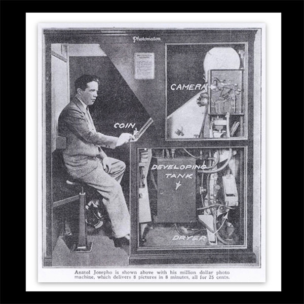 The inventor of the photo booth, Anatol Josepho