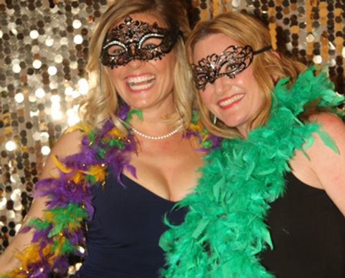 Masquerade theme charity fundraiser non-profit event fin Delray Beach, Palm Beach County.  Photography by ILLUMINATE South Florida Photo Booth