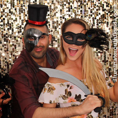 staff team building retreat and fun reception with photo booth as icebreaker in Fort Lauderdale, Broward County, South Florida.  Service for corporate event provided by ILLUMINATE South Florida Photo Booth