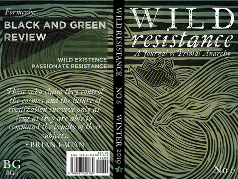Wild Resistance no 6 is off to the press