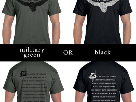 Pre-orders: BAGR 3 reprint and new shirts!