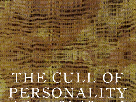 New Book: The Cull of Personality - Kevin Tucker