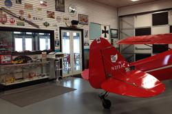 New hangar at SLOAS Airfield