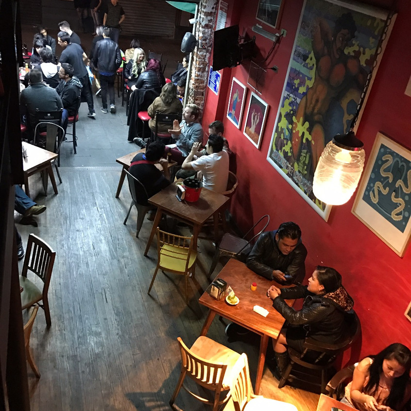Afterwards at Street Bars