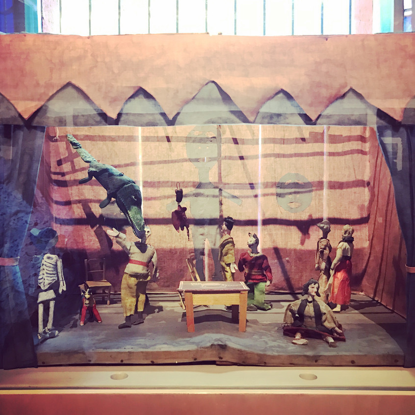 A Small Puppet Theater by Frida