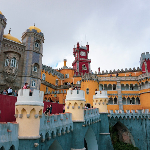 Pena Palace in All It's Glory