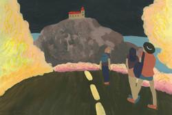 Bardenas peinture