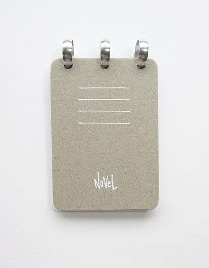 A7 Discbound Pocket Notebook - Plain paper