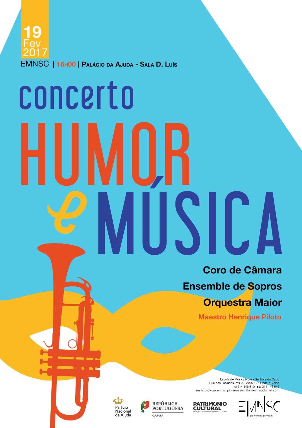 Concerto Humor e Música | Palácio da Ajuda