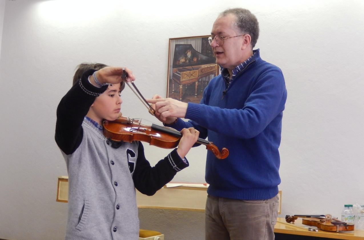 Masterclass Violino Roberto Valdes