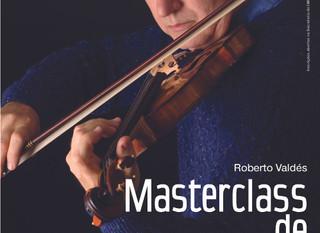 Roberto Valdés - Masterclass de violino