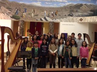 Concerto de Natal da classe de harpa