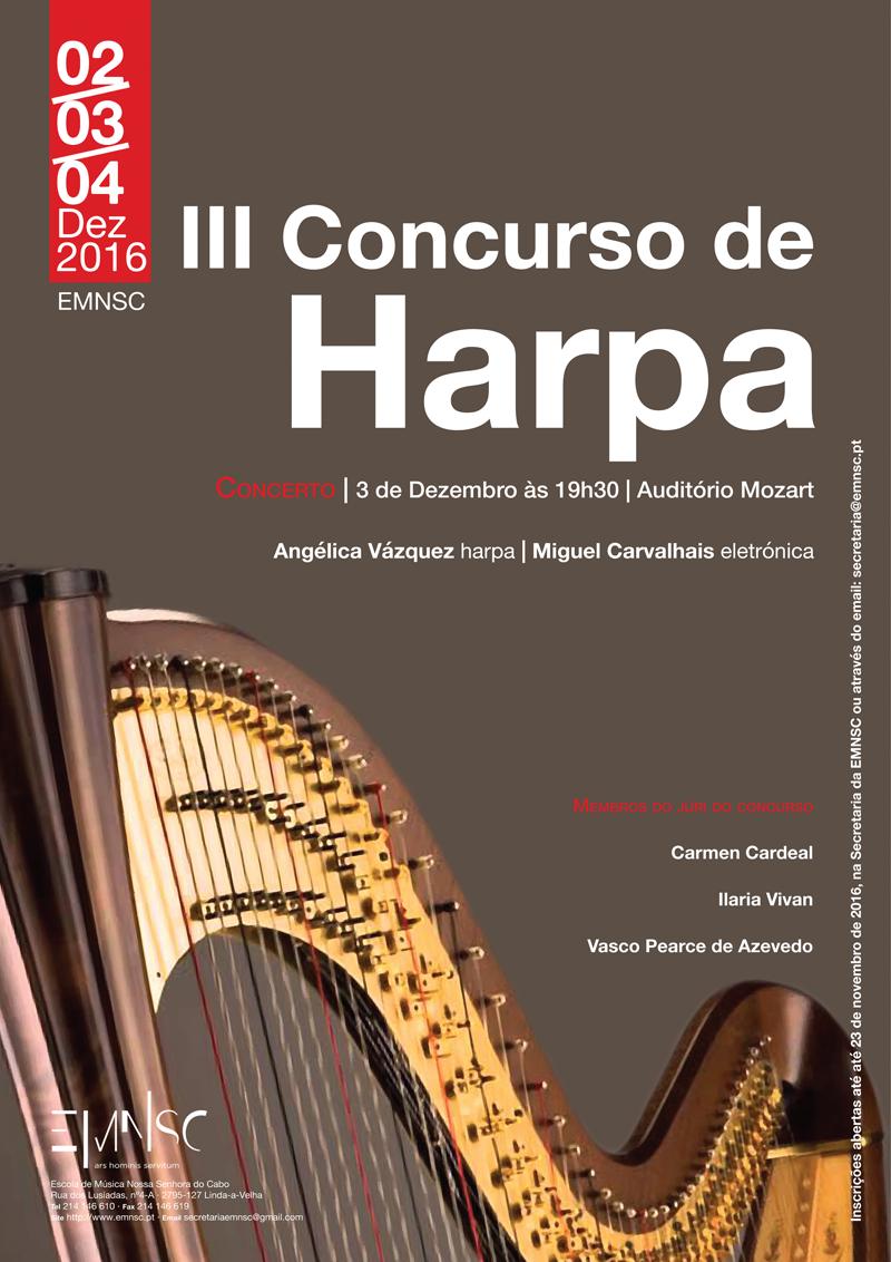 III Concurso Nacional de Harpa