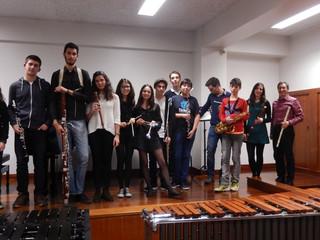 Audição de Sopros e Percussão