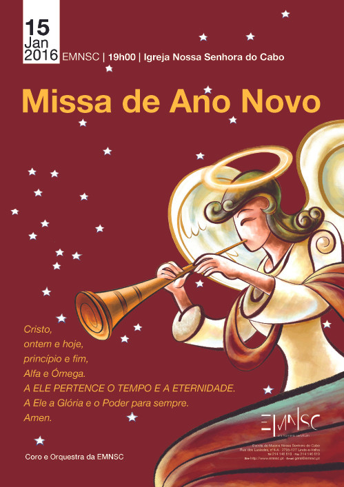 Missa de Ano Novo - Escola de Música Nossa Senhora do Cabo