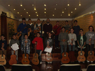 As guitarras da EMNSC