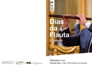 5ª edição Dias da Flauta | Ficha de inscrição