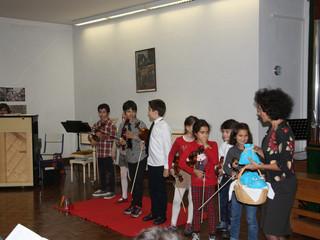 Audição Violino da professora Rita Mendes