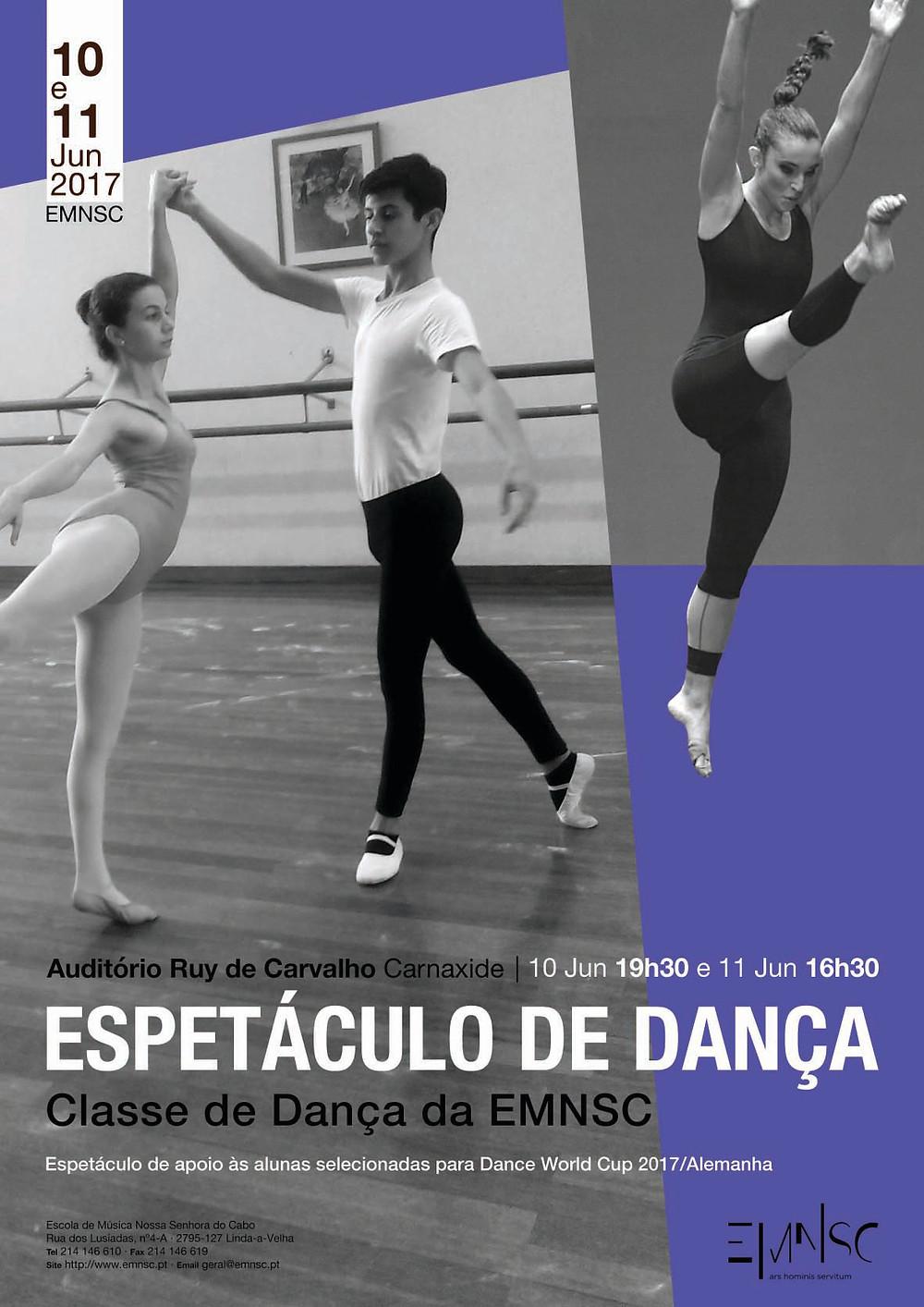 Espetáculo de Dança da EMNSC