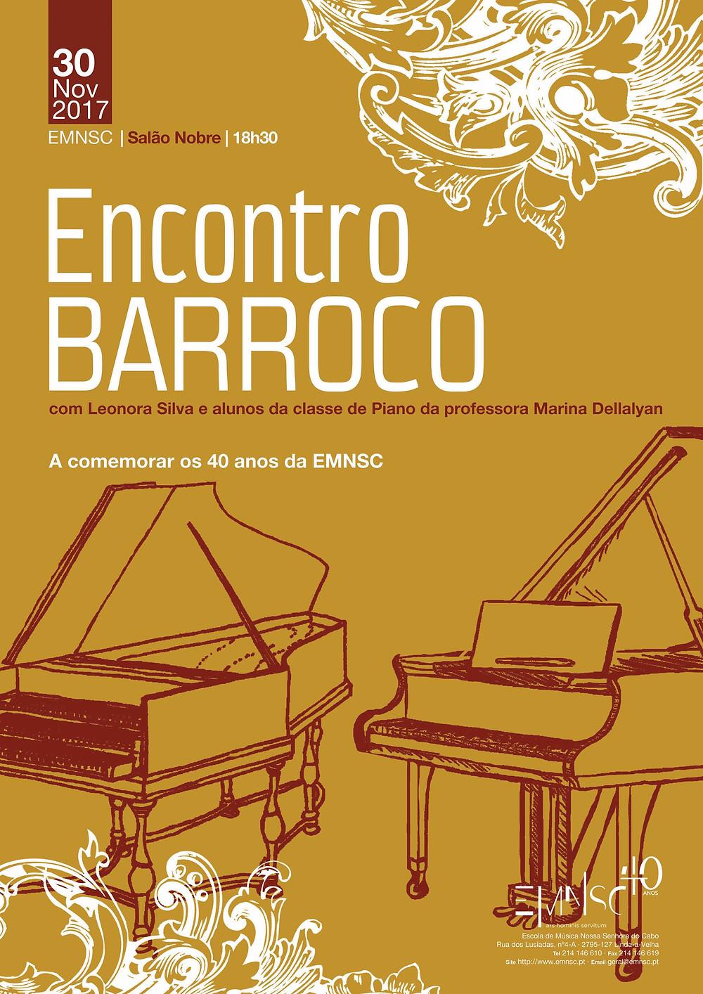 Encontro Barroco na EMNSC
