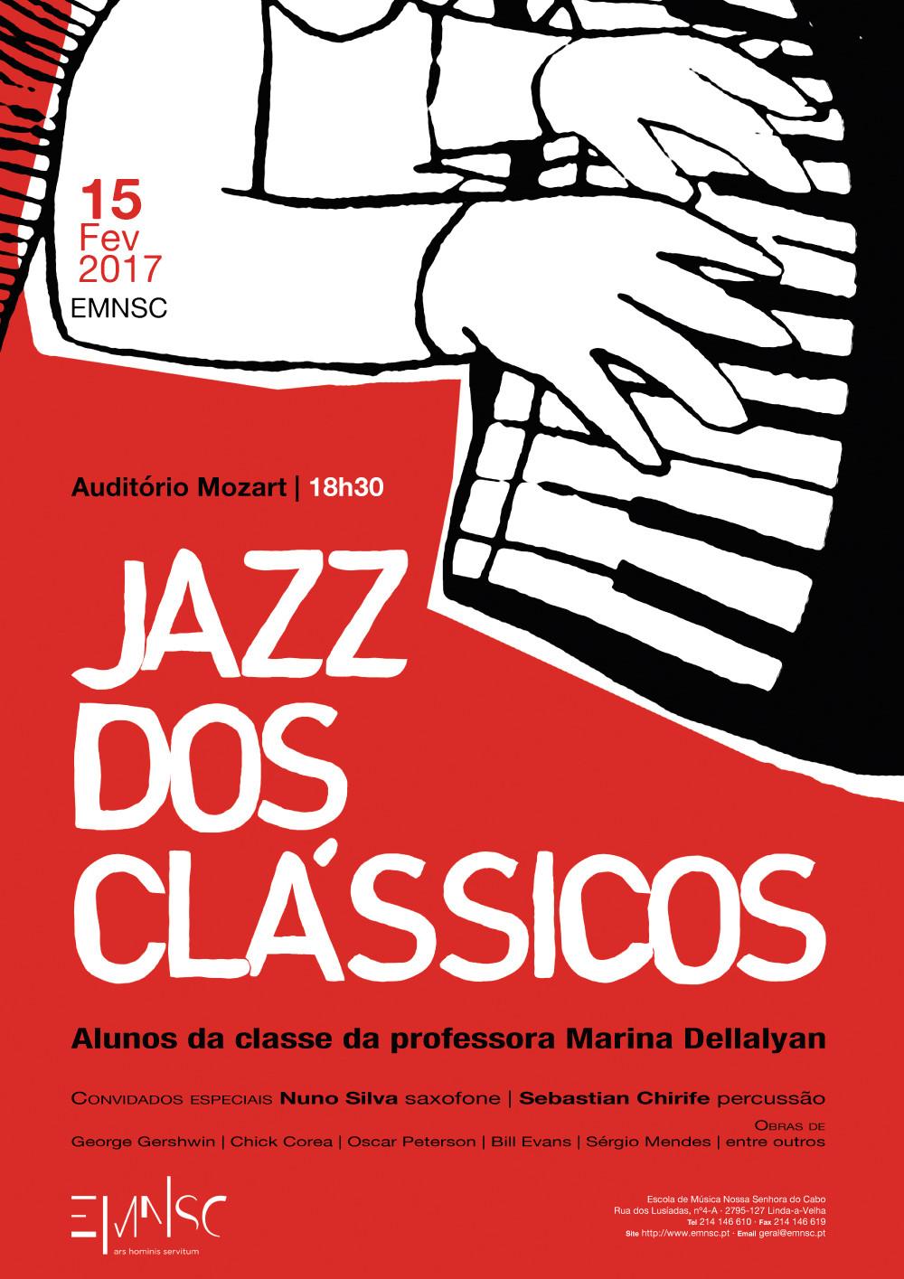 Jazz dos Clássicos | Alunos da Classe da professora Marina Dellalyan