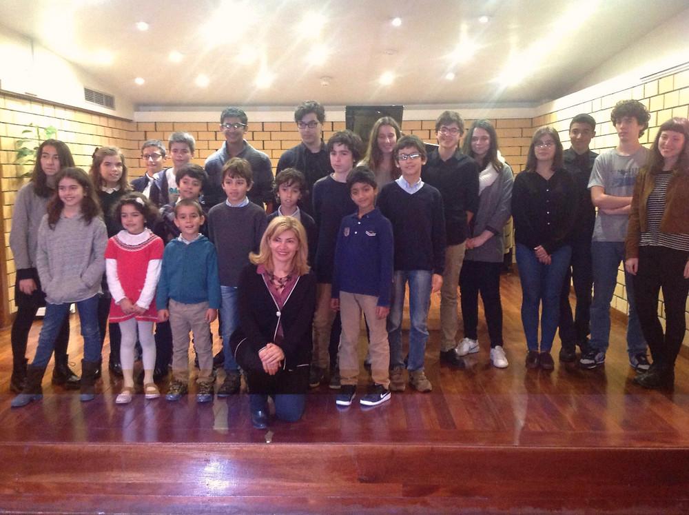 Classe de piano da professora Marina Dellalyan