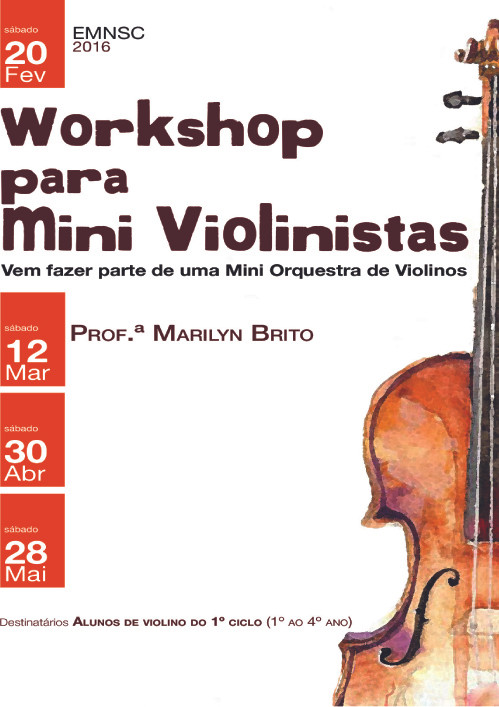 Workshop para Mini Violinistas