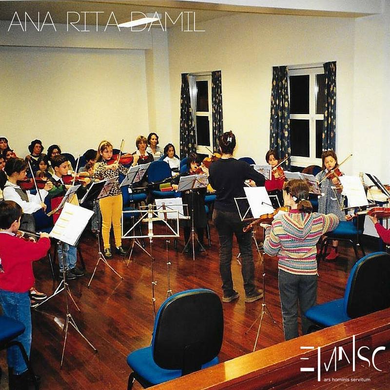 Ana Rita Damil, Crescer com a Música