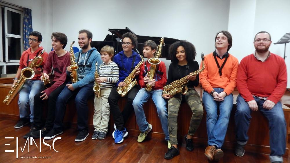 Audição de Saxofone