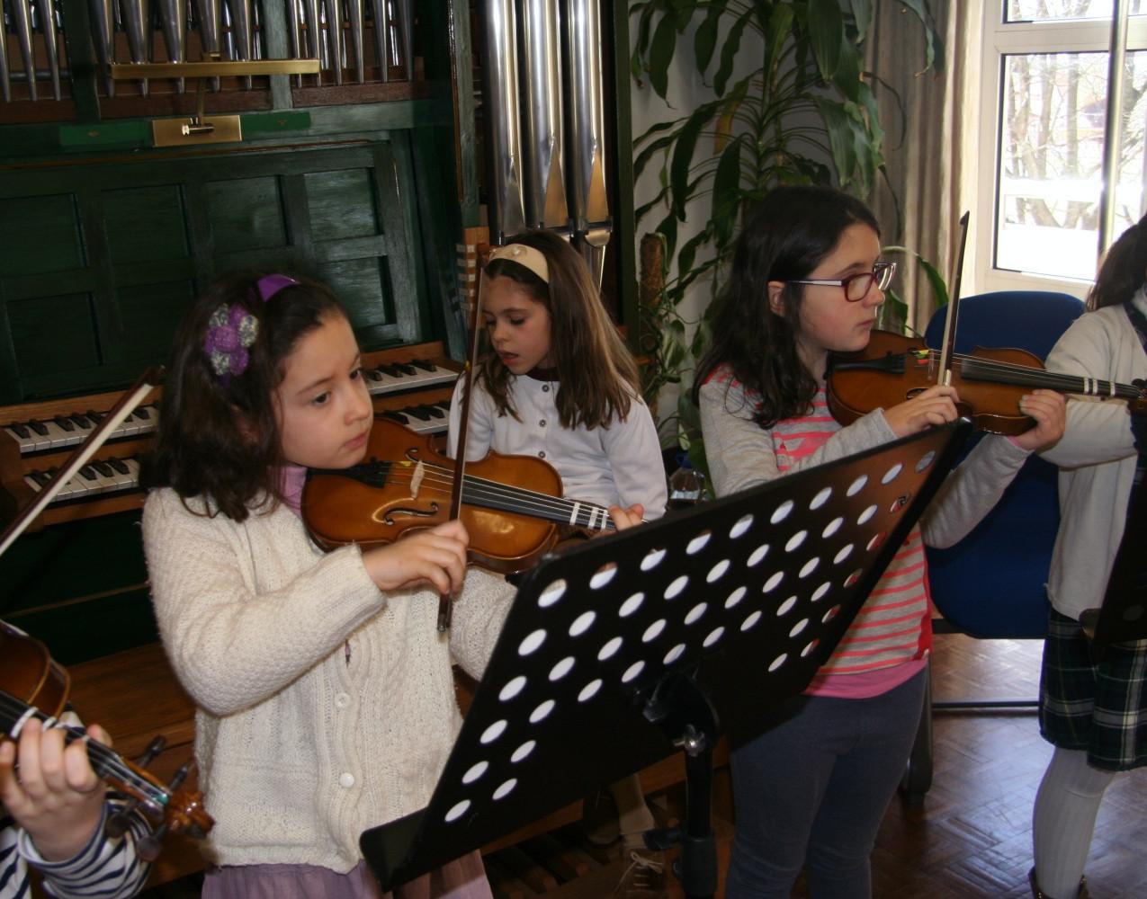 Workshop para Mini Violinistas